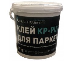 "Клей для паркета KRAFT PARKETT PU-KP (10 кг) - <ul class=""atr"">  <li class=""art_bottom_line""><span class=""art_top"">Артикул:</span><span class=""art_top"">PU-KP</span></li> </ul> <ul class=""atr"">  <li class=""art_bottom_line""><span class=""art_top"">Производитель:</span><span class=""art_top"">Murexin</span></li> </ul> <ul class=""atr"">  <li class=""art_bottom_line""><span class=""art_top"">Состав:</span><span class=""art_top"">Двухкомпонентный</span></li> </ul> <ul class=""atr"">  <li class=""art_bottom_line""><span class=""art_top"">Основа:</span><span class=""art_top"">Полиуретановый</span></li> </ul> <ul class=""atr"">  <li class=""art_bottom_line""><span class=""art_top"">Назначение:</span><span class=""art_top"">Для внутренних работ</span></li> </ul> <ul class=""atr"">  <li class=""art_bottom_line""><span class=""art_top"">Объем:</span><span class=""art_top"">10 кг</span></li> </ul> <ul class=""atr"">  <li class=""art_bottom_line""><span class=""art_top"">Расход:</span><span class=""art_top"">800-1200 гр/кв.м</span></li> </ul> <ul class=""atr"">  <li class=""art_bottom_line""><span class=""art_top"">Время работоспособности:</span><span class=""art_top"">50-60 мин </span></li> </ul> <ul class=""atr"">  <li class=""art_bottom_line""><span class=""art_top"">Страна производитель:</span><span class=""art_top"">Австрия</span></li> </ul> - Клей маркет"