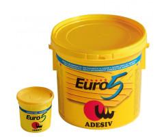 "Клей ADESIV EURO 5 (10 кг) - <ul class=""atr"">  <li class=""art_bottom_line""><span class=""art_top"">Артикул:</span><span class=""art_top"">EURO 5</span></li> </ul> <ul class=""atr"">  <li class=""art_bottom_line""><span class=""art_top"">Производитель:</span><span class=""art_top"">Adesiv</span></li> </ul> <ul class=""atr"">  <li class=""art_bottom_line""><span class=""art_top"">Состав:</span><span class=""art_top"">Двухкомпонентный</span></li> </ul> <ul class=""atr"">  <li class=""art_bottom_line""><span class=""art_top"">Основа:</span><span class=""art_top"">Эпоксидно-полиуретановый</span></li> </ul> <ul class=""atr"">  <li class=""art_bottom_line""><span class=""art_top"">Назначение:</span><span class=""art_top"">Для внутренних работ</span></li> </ul> <ul class=""atr"">  <li class=""art_bottom_line""><span class=""art_top"">Объем:</span><span class=""art_top"">9,4+0,6 кг</span></li> </ul> <ul class=""atr"">  <li class=""art_bottom_line""><span class=""art_top"">Расход:</span><span class=""art_top"">1000-1300 гр/кв.м</span></li> </ul> <ul class=""atr"">  <li class=""art_bottom_line""><span class=""art_top"">Время работоспособности:</span><span class=""art_top"">150 мин</span></li> </ul> <ul class=""atr"">  <li class=""art_bottom_line""><span class=""art_top"">Страна производитель:</span><span class=""art_top"">Италия</span></li> </ul> - Клей маркет"