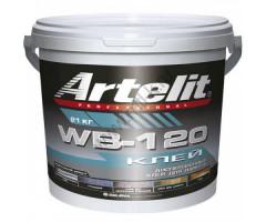 """Клей Artelit Professional WB-120 (21 кг) - <ul class=""""atr"""">  <li class=""""art_bottom_line""""><span class=""""art_top"""">Артикул:</span><span class=""""art_top"""">WB-120</span></li> </ul> <ul class=""""atr"""">  <li class=""""art_bottom_line""""><span class=""""art_top"""">Производитель:</span><span class=""""art_top"""">Artelit</span></li> </ul> <ul class=""""atr"""">  <li class=""""art_bottom_line""""><span class=""""art_top"""">Состав:</span><span class=""""art_top"""">Однокомпонентный</span></li> </ul> <ul class=""""atr"""">  <li class=""""art_bottom_line""""><span class=""""art_top"""">Основа:</span><span class=""""art_top"""">Водной дисперсии сополимеров</span></li> </ul> <ul class=""""atr"""">  <li class=""""art_bottom_line""""><span class=""""art_top"""">Назначение:</span><span class=""""art_top"""">Для внутренних работ</span></li> </ul> <ul class=""""atr"""">  <li class=""""art_bottom_line""""><span class=""""art_top"""">Объем:</span><span class=""""art_top"""">21 кг</span></li> </ul> <ul class=""""atr"""">  <li class=""""art_bottom_line""""><span class=""""art_top"""">Расход:</span><span class=""""art_top"""">700-1000 гр/кв.м</span></li> </ul> <ul class=""""atr"""">  <li class=""""art_bottom_line""""><span class=""""art_top"""">Время работоспособности:</span><span class=""""art_top"""">10-15 мин</span></li> </ul> <ul class=""""atr"""">  <li class=""""art_bottom_line""""><span class=""""art_top"""">Страна производитель:</span><span class=""""art_top"""">Польша</span></li> </ul> - Клей маркет"""