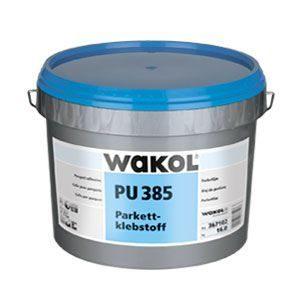 "Клей для паркета WAKOL PU 385 (16 кг) - <ul class=""atr"">  <li class=""art_bottom_line""><span class=""art_top"">Производитель:</span><span class=""art_top"">Wakol</span></li> </ul> <ul class=""atr"">  <li class=""art_bottom_line""><span class=""art_top"">Страна производитель:</span><span class=""art_top"">Германия</span></li> </ul> <ul class=""atr"">  <li class=""art_bottom_line""><span class=""art_top"">Основа:</span><span class=""art_top"">Полиуретановая смола</span></li> </ul> <ul class=""atr"">  <li class=""art_bottom_line""><span class=""art_top"">Расход, гр/кв.м:</span><span class=""art_top"">750-1450</span></li> </ul> <ul class=""atr"">  <li class=""art_bottom_line""><span class=""art_top"">Морозостойкий:</span><span class=""art_top"">хранить в прохладном и сухом месте, морозостойкий</span></li> </ul> <ul class=""atr"">  <li class=""art_bottom_line""><span class=""art_top"">Время подсыхания, мин:</span><span class=""art_top"">не требуется</span></li> </ul> <ul class=""atr"">  <li class=""art_bottom_line""><span class=""art_top"">Время укладки, мин:</span><span class=""art_top"">ок. 40 минут</span></li> </ul> <ul class=""atr"">  <li class=""art_bottom_line""><span class=""art_top"">Фасовка, кг:</span><span class=""art_top"">16</span></li> </ul> - Клей маркет"