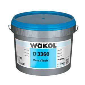 """Клей для укладки линолеума WAKOL D 3360 VersaTack (6 кг) - <ul class=""""atr"""">  <li class=""""art_bottom_line""""><span class=""""art_top"""">Производитель:</span><span class=""""art_top"""">Wakol</span></li> </ul> <ul class=""""atr"""">  <li class=""""art_bottom_line""""><span class=""""art_top"""">Страна производитель:</span><span class=""""art_top"""">Германия</span></li> </ul> <ul class=""""atr"""">  <li class=""""art_bottom_line""""><span class=""""art_top"""">Основа:</span><span class=""""art_top"""">Акрилатная дисперсия</span></li> </ul> <ul class=""""atr"""">  <li class=""""art_bottom_line""""><span class=""""art_top"""">Расход, гр/кв.м:</span><span class=""""art_top"""">250-550</span></li> </ul> <ul class=""""atr"""">  <li class=""""art_bottom_line""""><span class=""""art_top"""">Морозостойкий:</span><span class=""""art_top"""">не ниже +5 °C, чувствителен к морозу</span></li> </ul> <ul class=""""atr"""">  <li class=""""art_bottom_line""""><span class=""""art_top"""">Время подсыхания, мин:</span><span class=""""art_top"""">ок. 10-20 минут</span></li> </ul> <ul class=""""atr"""">  <li class=""""art_bottom_line""""><span class=""""art_top"""">Время укладки, мин:</span><span class=""""art_top"""">ок. 20-30 минут</span></li> </ul> <ul class=""""atr"""">  <li class=""""art_bottom_line""""><span class=""""art_top"""">Фасовка, кг:</span><span class=""""art_top"""">6</span></li> </ul> - Клей маркет"""